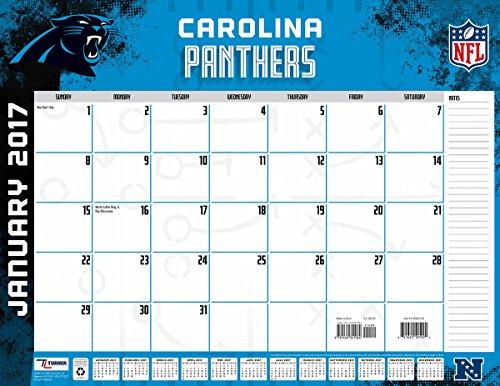 Carolina Panthers Desk Calendars Price Compare