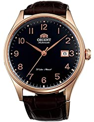 Orient Duke Automatic Watch with Black Dial, Sapphire Crystal, Rose Goldtone Case ER2J001B