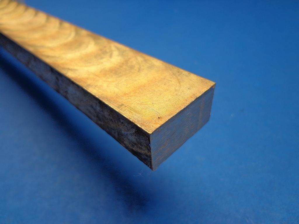 Industrial Metal Sales - 954 Bronze Flat Bar 1/2'' x 1'' x 12''-Long by 954 Bronze
