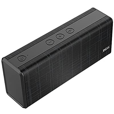 DOSS Portable Wireless Bluetooth Speaker with 12W Stereo Sound and Enhanced Bass