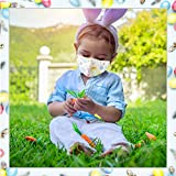 Easter Eggs Washable Kids Face Mask, Cute Reusable