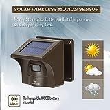 1/2 Mile Solar Driveway Alarm Sytem Wireless Long