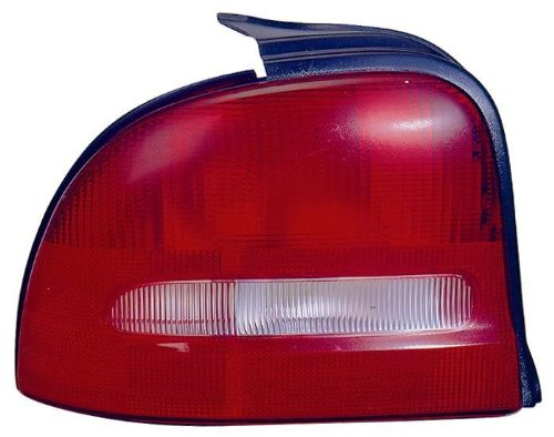 Depo 333-1910L-US Dodge/Plymouth Neon Driver Side Replacement Taillight Unit