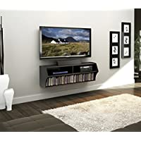 Prepac BCAW-0200-1 Altus Wall Mounted Audio/Video Console...