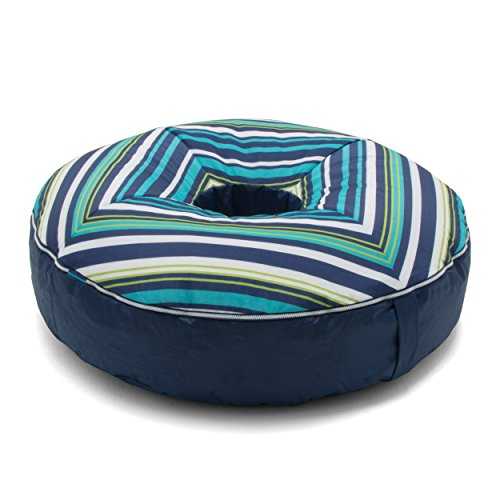 Big Joe Joenut Float Cool Cozumel Stripe Bean Bag, Multicolor
