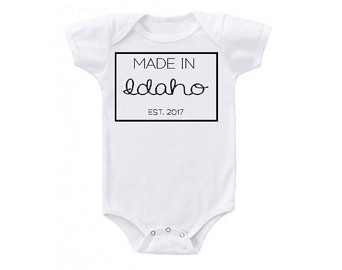 Amazon.com: Fabricado en Idaho Estados Unidos Babe diseño ...