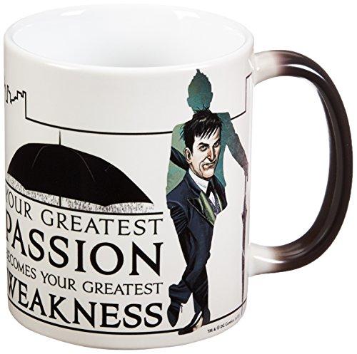 Morphing Mugs Gotham (Oswald Cobblepot) Ceramic Mug, Black