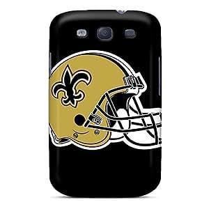 LisaSwinburnson Samsung Galaxy S3 Scratch Resistant Hard Phone Cover Support Personal Customs Beautiful New Orleans Saints Pattern [YrY6159cBqT] WANGJING JINDA