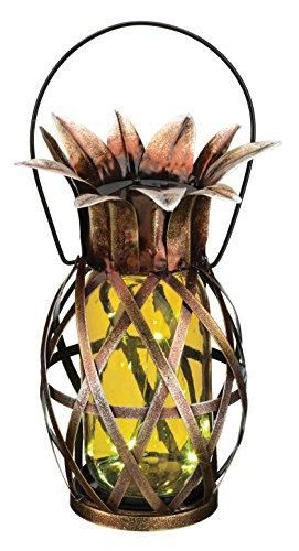 - Regal Art & Gift 11868 Pineapple Lantern Decorative Lantern, Yellow
