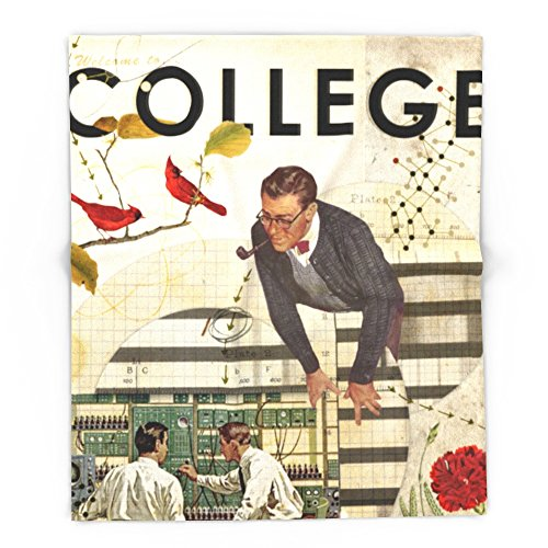 Society6 Welcome To... College 88'' x 104'' Blanket by Society6 (Image #4)