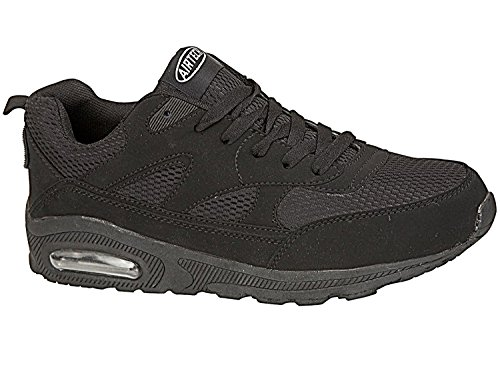 Shock Black Shoes Running Size Trainers 4 All Sports Tech Air Absorbing Ladies Fitness 8 Gym wqTaFIW