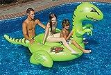 Swimline Giant T-Rex Funny Dinosaur Ride-On Pool Float