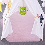 junovo Ultra Soft Rug for Nursery Children Room