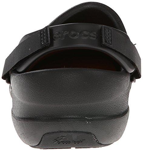 crocs Unisex-Erwachsene Bistro Pro Clog Schwarz (Black)