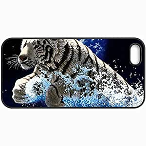 Customized Cellphone Case Back Cover For iPhone 5 5S, Protective Hardshell Case Personalized Beasts 2110 1 Black