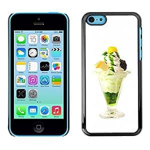 LASTONE PHONE CASE / Carcasa Funda Prima Delgada SLIM Casa Carcasa Funda Case Bandera Cover Armor Shell para Apple Iphone 5C / Funny Tasty Ice Cream