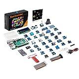 SunFounder Raspberry Pi 3 Model B+ 37 Modules Sensor Kit V2.0 for RPI 3 B+, 2B, A+, Zero, Raspberry Pi 3 Model B+ Included