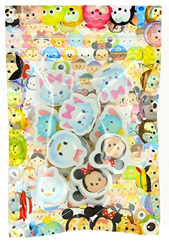 Disney Tsum Tsum 12 pieces Mini Erasers