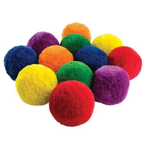 US Games Fleece Balls (Dozen) (Fleece Ball)