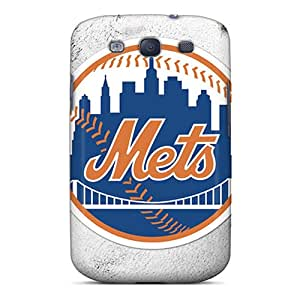 New JaneHouse Super Strong New York Mets Tpu Case Cover For Galaxy S3