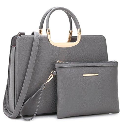 Leather Satchel Handbags - 7