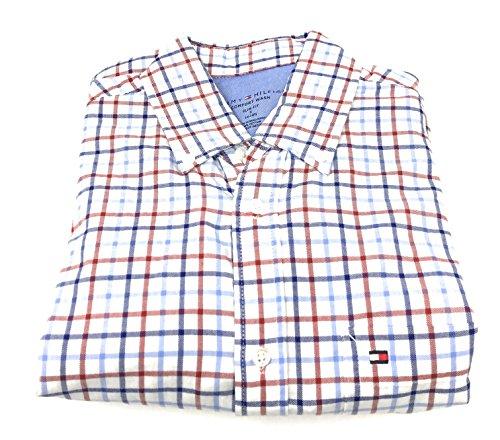 Tommy Hilfiger Men's Slim-Fit Comfort Wash Untucked Dress Shirt (15-15 - Hilfiger Tommy Online Sale