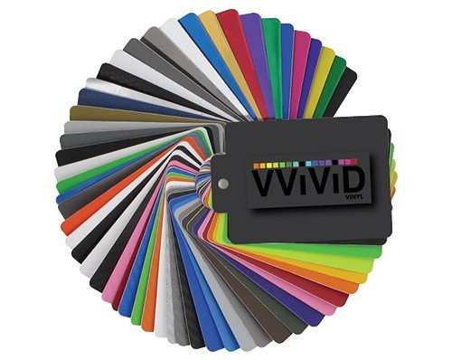 VViViD Vinyl Complete Car Wrap Sample Booklet VXPOSAMPLEBOOK-P