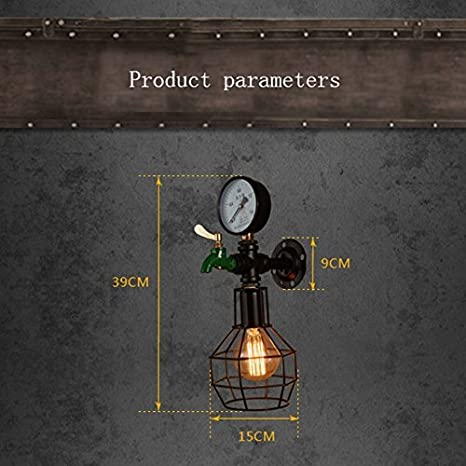 Amazon.com: YOIOY Home Wall Lamp Wall Lamp,Vintage ...