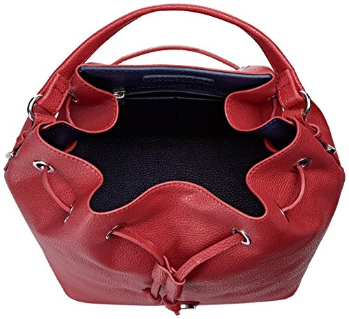 10249c76ab6 Tommy Hilfiger Mara Drawstring Bucket Bag, Red, One Size - Import It ...