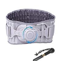 Decompression Back Belt Women & Men Spinal Air Traction Device Inflatable Back Brace...