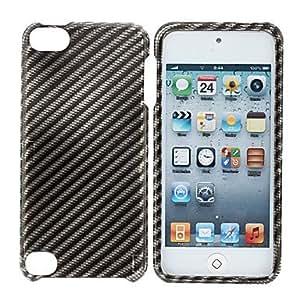 Negro Rejas Caso PatrÓn duro para el iPod touch 5