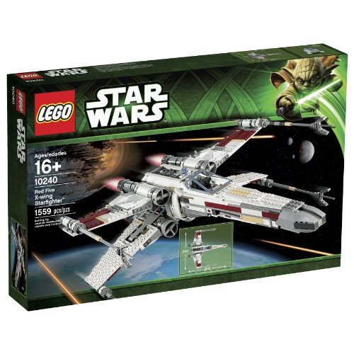 LEGO-Star-Wars-10240-Red-Five-X-Wing-Starfighter-Building-Set-Discontinued-by-manufacturer