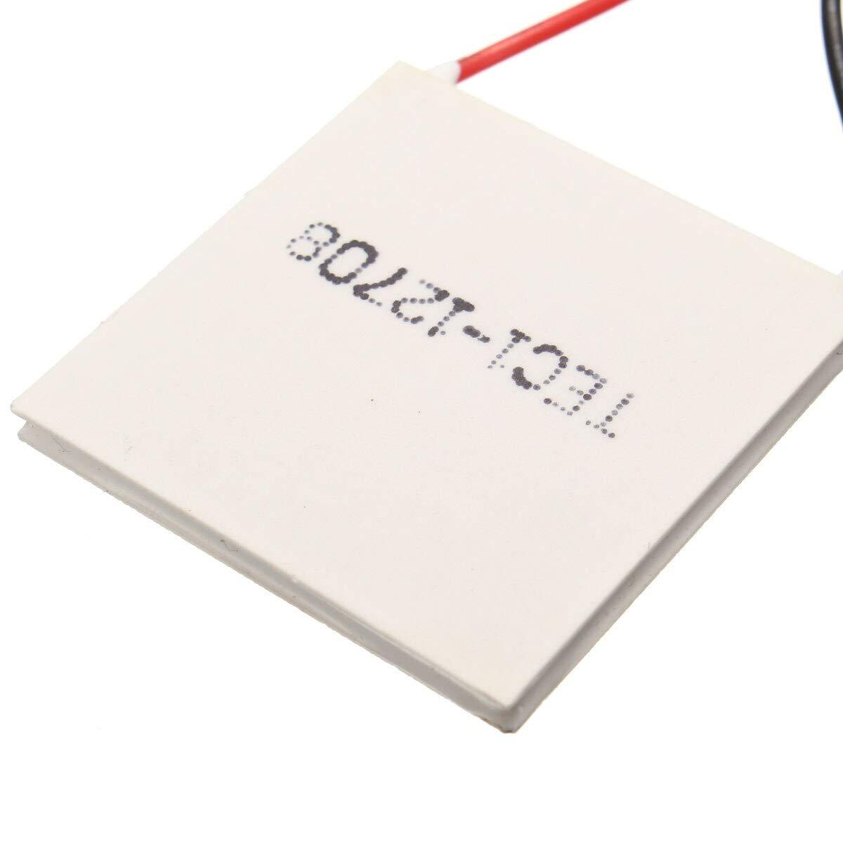 3pcs TEC1-12708 Heatsink Thermoelectric Cooler Cooling Peltier Plate Module