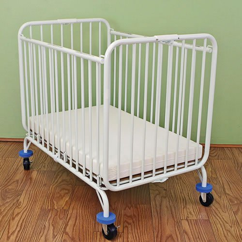 None Deluxe Folding Compact Crib by None