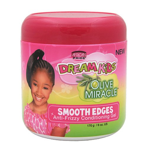 African Pride Dream Kids Olive Miracle Smooth Edge Gel