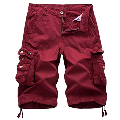 Men's Pants, Limsea Pure Color Outdoors Pocket Beach