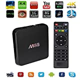 Kekilo M8S TV Box Amlogic S805 Quad Core Android 4.4 Kitkat 1GB DDR3 8GB NAND Flash H.265 1080P Streaming Media Player