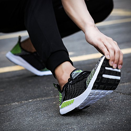 Uomo Scarpe Verde Sneakers Basse Sportive Blu Rosa Neoker 36 Donna Da Running Nero 46 vmNw8n0yO