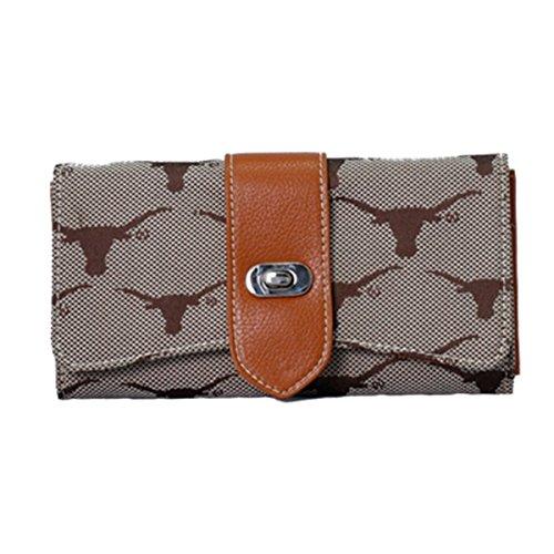 Sandol Texas Longhorns Jacquard Fabric Ladies -