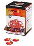 Liberty DuraPlug Corded Disposable Reusable Earplug with 25 dB NRR (Case of 100 Pairs)