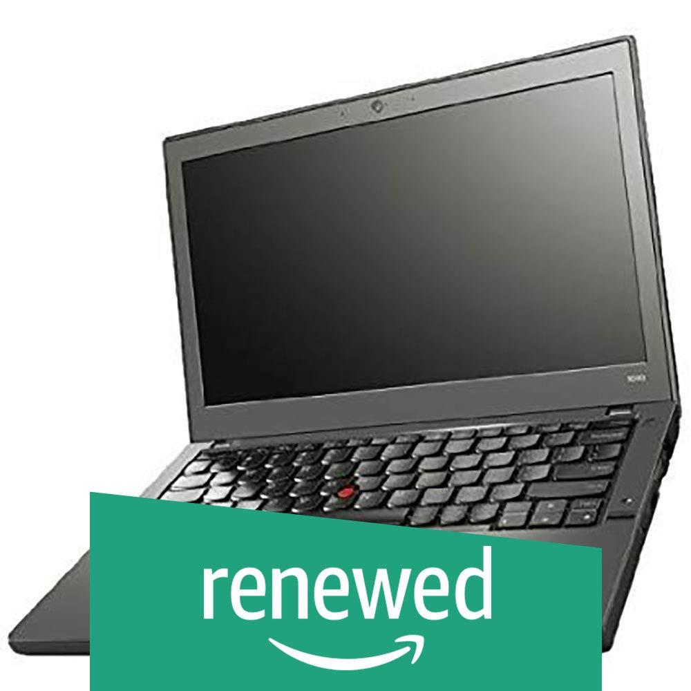 Renewed  Lenovo ThinkPad X240 i5 8  GB 240  GB SSD 12.5 inch Laptop  4th Gen Core i5/8 GB/240 GB SSD/Windows 7/Integrated Graphics , Black Laptops