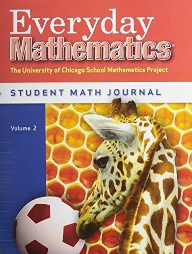 Everyday Mathematics, Grade 1 - Student Math Journal, Volume 2 Paperback 2007 (Wright Group Mcgraw Hill 3rd Grade Math)