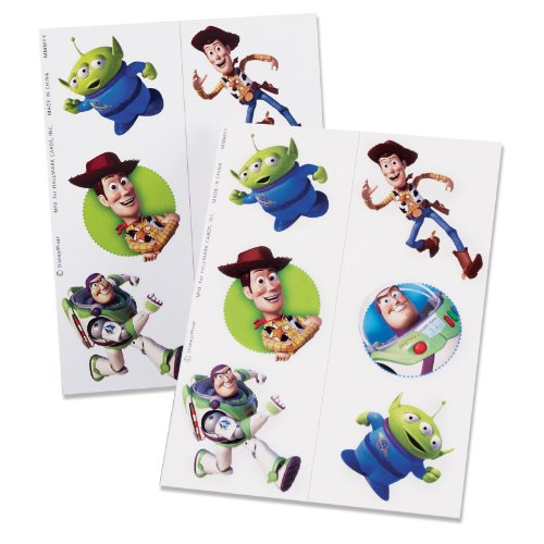 Toy Story 3 Tattoos (2 count) -