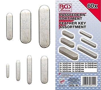 BGS Passfedernsortiment 60 teilig 8141