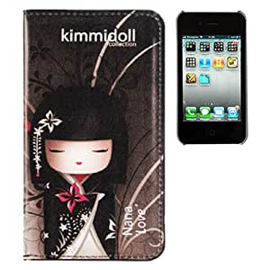 Kimmidoll KIFM007 - Funda para smartphone Apple iPhone 4/4S