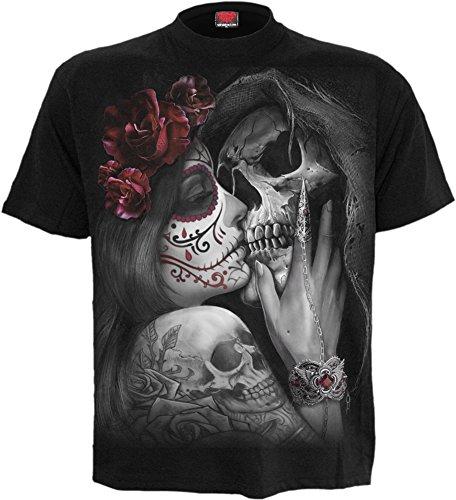 Spiral - Mens - Dead KISS - T-Shirt Black - M