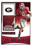 A.J. Green football card (Georgia Bulldogs) 2016 Panini Draft Picks #1