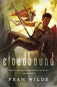 Cloudbound by Fran Wilde fantasy book reviews
