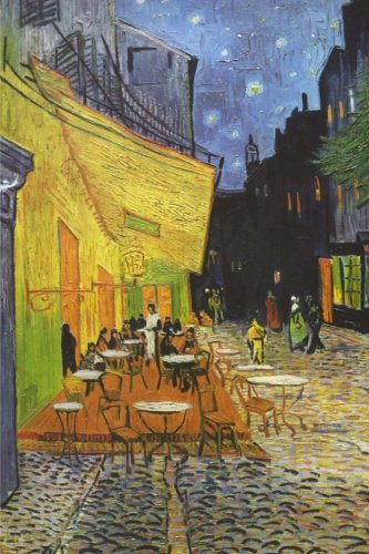 - Café terrace at night, Vincent van Gogh. Ruled journal: 160 Lined / ruled pages, 6x9 inch (15.24 x 22.86 cm) Soft cover. (Paper notebook, composition book)