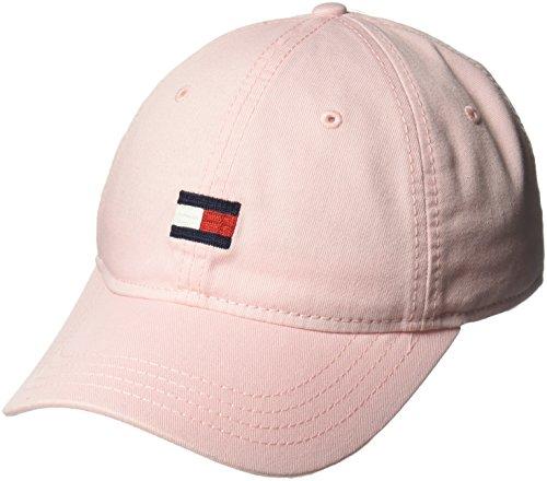 One Baseball Pink Cap (Tommy Hilfiger Men's Ardin Dad Baseball Cap, Crystal Rose, One Size)